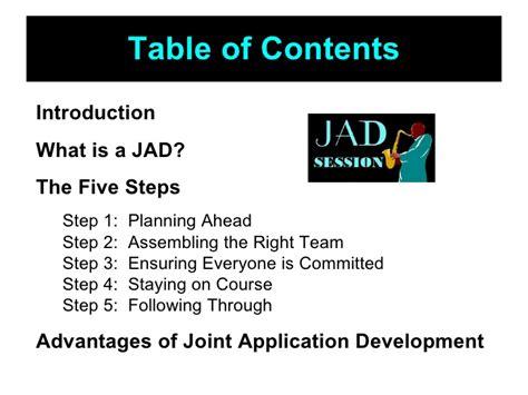 joint application design definition what is a jad session tolg jcmanagement co