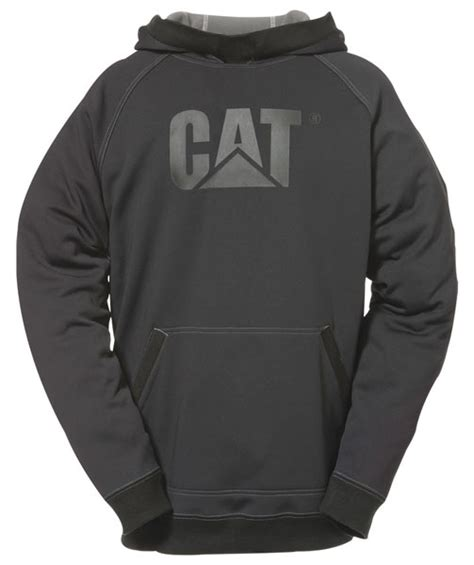 Hoodie Black Caterpillar Cat C3 caterpillar black shield fleece pullover hooded sweatshirt 1910701