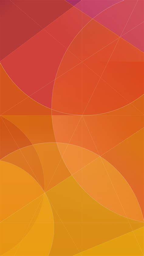 wallpaper android orange note stock orange circles minimal abstract android
