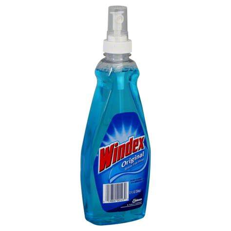 windex glass cleaner with ammonia d original household needs giant eagle