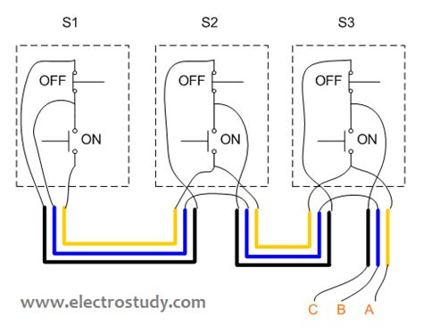 wiring diagram 3 phase motor 3 3 kw with three unit of bsh