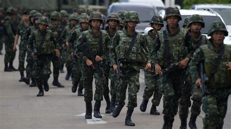 thai military says it s taken over the country in a coup