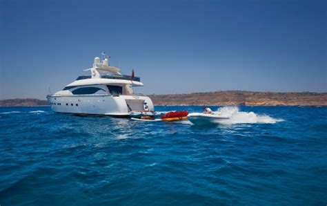 Yacht Meme - motor yacht meme aft view with tender luxury yacht