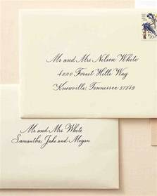 what do you write in a wedding card how to address guests on wedding invitation envelopes