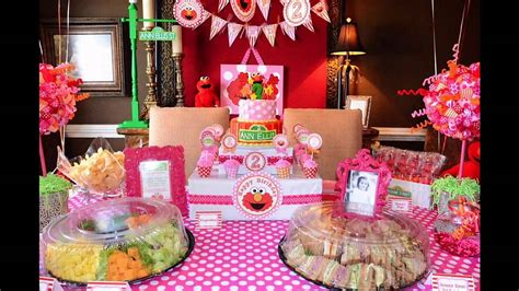 home birthday party decorations second birthday party decorations at home ideas youtube