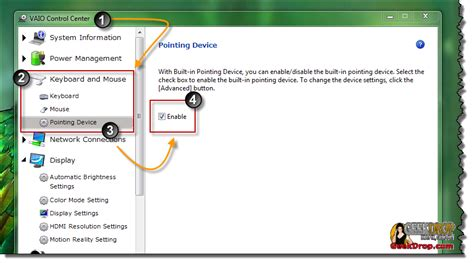 Touchpad Vaio by How To Disable The Touch Pad On A Sony Vaio And Of Course