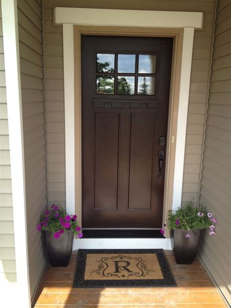25 best ideas about brown front doors on letter door wreaths fall burlap wreaths