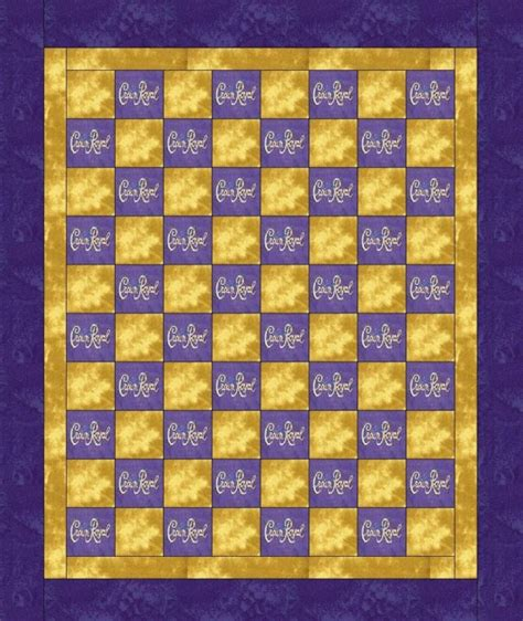 How To Make A Crown Royal Bag Quilt by Items Similar To Crown Royal Quilt Blanket Made With