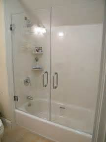 bathtub shower doors frameless best 25 replacement shower doors ideas on