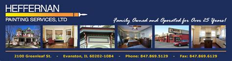 interior house painter glenview heffernan painting services ltd glenview il 60025