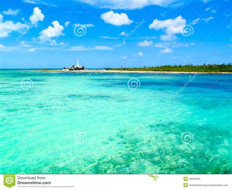 Dreams Palm Beach Resort by Caribbean Sea Iguana Island Cayo Largo Cuba Stock