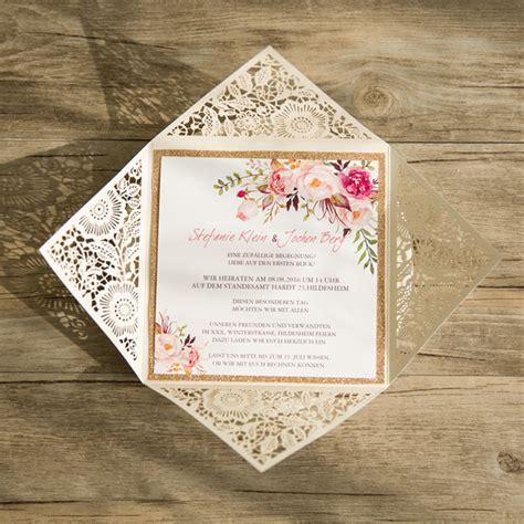 Hochzeitseinladung Mit Spitze by Traumhafte Einladungskarten Zur Hochzeit丨hochzeitsdekos