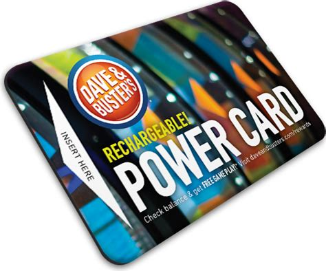Card Power Plays dave buster s hundreds of state of the for