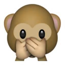 Open The Eyes Of My Heart Blind Boy Speak No Evil Monkey Emoji U 1f64a