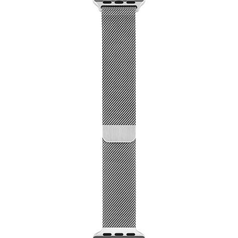 New Apple Hoco Milanese Loop Silver 1 apple milanese loop 42mm silver mj5f2zm a b h photo