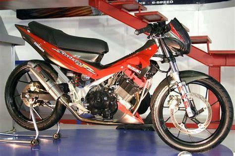 Bor Up Satria Fu modifikasi suzuki satria fu 150 cc 2009 and specs