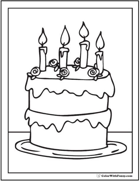 Birthday Cake Printable
