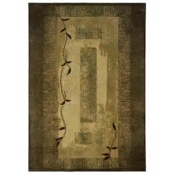 Allen roth holder rectangular green block area rug lowe s canada