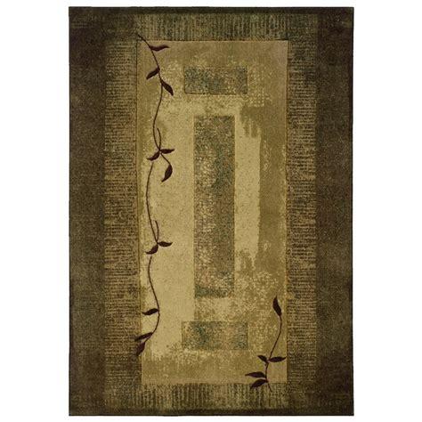 allen roth area rug allen roth holder rectangular green block area rug