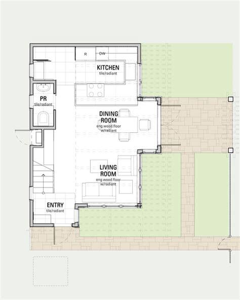 Backyard Backyard Cottage Plans Excellent Floor Plan View Of | phinney ridge backyard cottage cast architecture