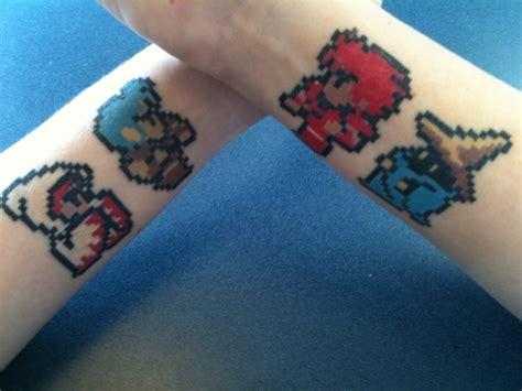 8 bit tattoo 8 bit tattoos by jigoku shoujo on deviantart