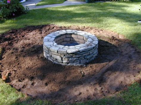diy pit sitting area how to set capstones for a pit how tos diy