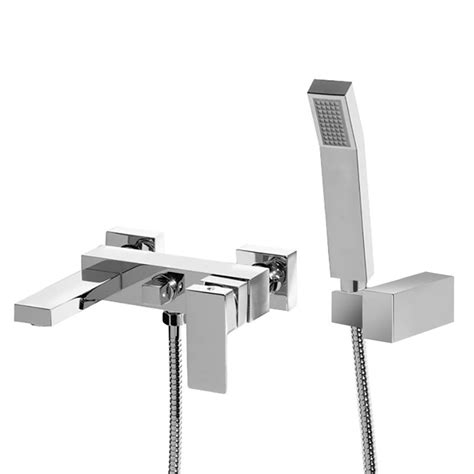 bathroom wall mixer cube wall mounted bath shower mixer