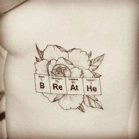 chemistry tattoos 9 stylish chemistry tattoos for and
