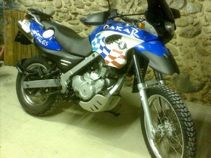 Motorrad Anderes Ritzel by Umgebautes Motorrad Bmw F 650 Gs Dakar Fichtltauchen