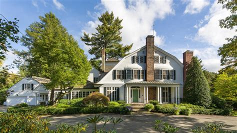 clinton new york home 275 bedford road chappaqua ny real estate 10514 youtube
