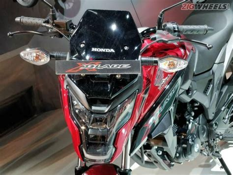 Lu Led Motor Honda Blade honda x blade launched in india zigwheels