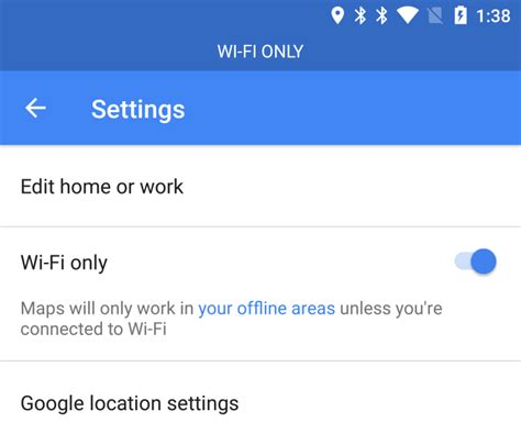 Wifi Only maps for android to add quot wifi only quot mode