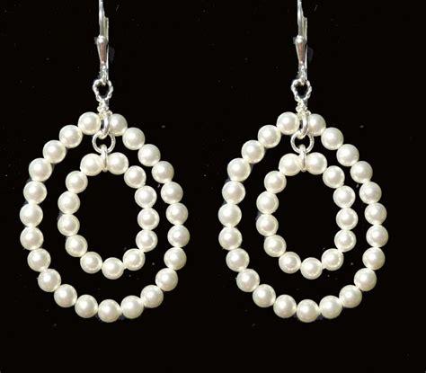 Ohrringe Hochzeit Perlen by Design Perlen Ohrschmuck Hochzeit