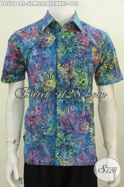 desain baju batik gaul kemeja batik cap smoke buatan solo desain modern keren dan