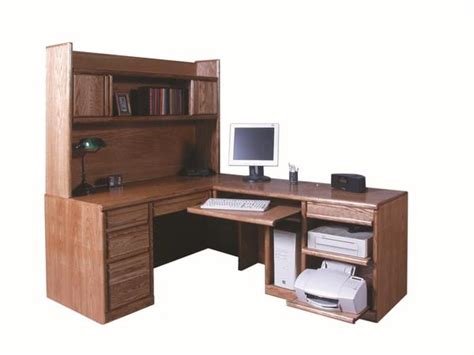 glendale laptop desk armoire forest designs bullnose desk return hutch 82 x 66