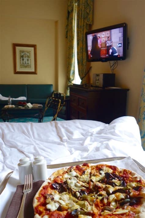 pizza bed hotel review intercontinental de la ville roma holy smithereens