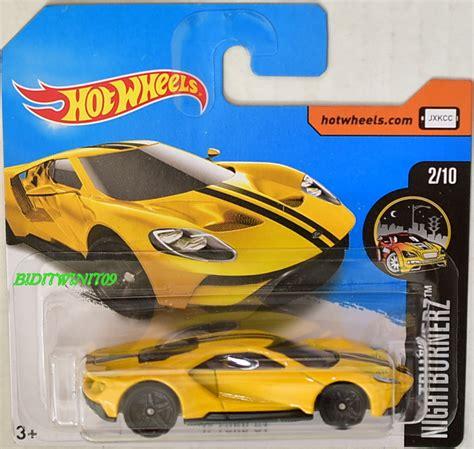 Hotwheels 2017 Ford Gt wheels 2017 nightburnerz 17 ford gt 2 10 yellow card 0002098 2 74