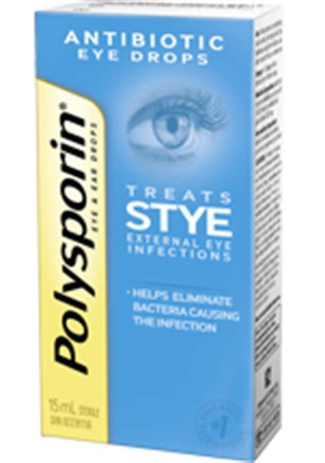polysporin® eye & ear drops   polysporin® canada