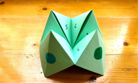 How Do You Make A Paper Chatterbox - how to make a paper fortune teller or chatterbox