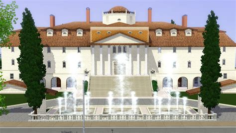 Mansion Floor Plans Sims 3 by Sims 3 Luxury Mansion By Ramborocky On Deviantart