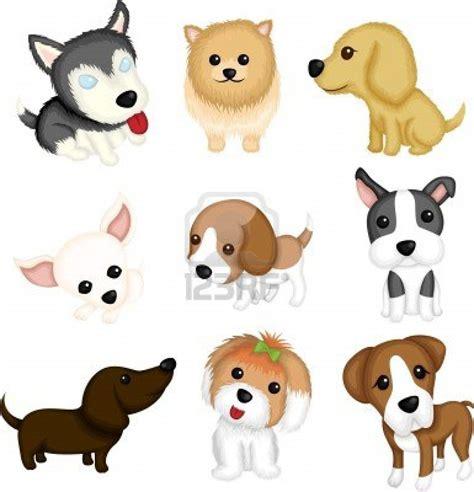 vector illustration   dog breeds dog art