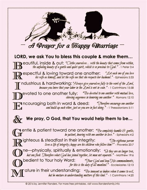 A Marriage Free Prayer For A Happy Marriage Free Printable Loving At Home