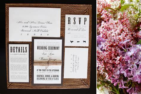 Wedding Invitations Fargo Nd by Rustic Elegance Collection Fargo Wedding Invitations