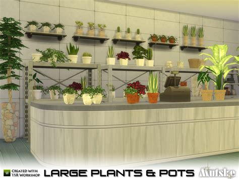mod the sims 3 small potted plants mutske s large plant and pots