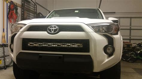 largest led light bar led light bar install on a 2014 t4r page 11 toyota