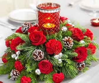 fiori di natale immagini addobbare la tavola per natale