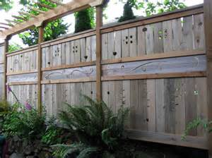 exterior fascinating unique fence ideas for better