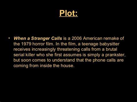 when a stranger calls 2006 analysis of when a stranger calls