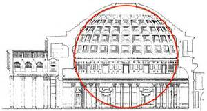 Pantheon Floor Plan Classical Greek Amp Roman Architecture M Services Design
