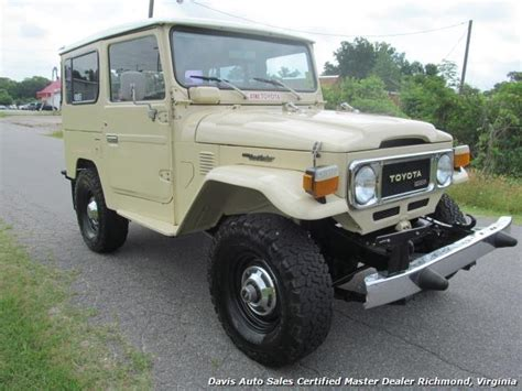 toyota suv 1980 1980 toyota land cruiser bj40 fj40 4x4 diesel